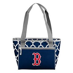 Logo Brand Boston Red Sox 16-Can Quatrefoil Cooler Tote
