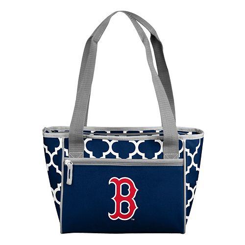 Logo Brand Boston Red Sox 16-Can Quatrefoil Cooler Tote