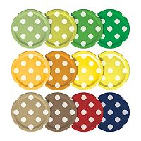 Mortier Pilon Dotted Mason Jar Lids 12-pk.