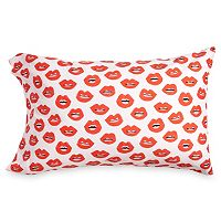 Scribble Lips Pillowcase