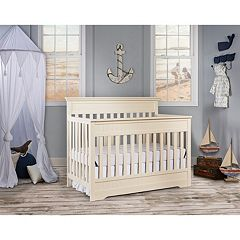 Dream On Me Chesapeake 5-In-1 Convertible Crib