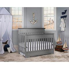 Dream On Me Chesapeake 5-In-1 Convertible Crib