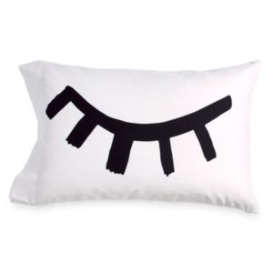 Scribble Wink Pillowcase