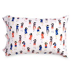Scribble Dancers Pillowcase