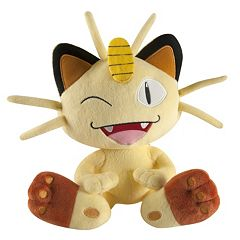Pokémon Large Meowth Plush