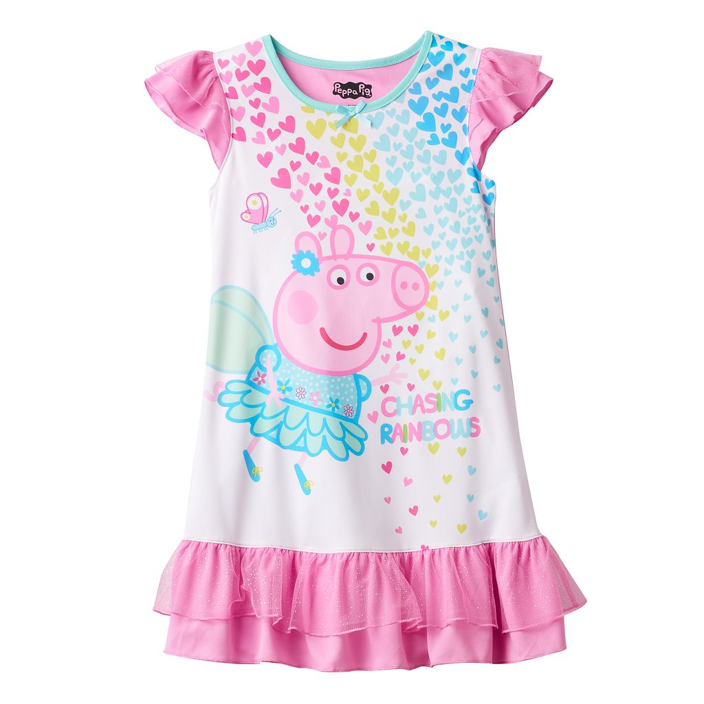 Girls 4-8 Peppa Pig