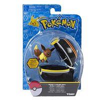 Pokémon Clip 'N' Carry Luxury Poké Ball & Eevee Figure Set