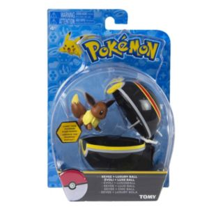 Pokémon Clip 'N' Carry Luxury Poké Ball & Eevee Figure Set