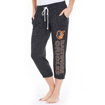 Women's Concepts Sport Baltimore Orioles Ringer Capri Pants