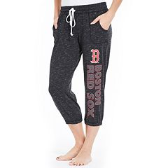 Women's Concepts Sport Boston Red Sox Ringer Capri Pants