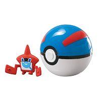 Rotom Pokédex & Great Ball Clip 'N' Carry Poké Ball Set