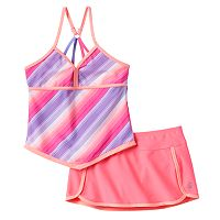 Girls 4-6x Free Country Apron Tankini Swimsuit Set