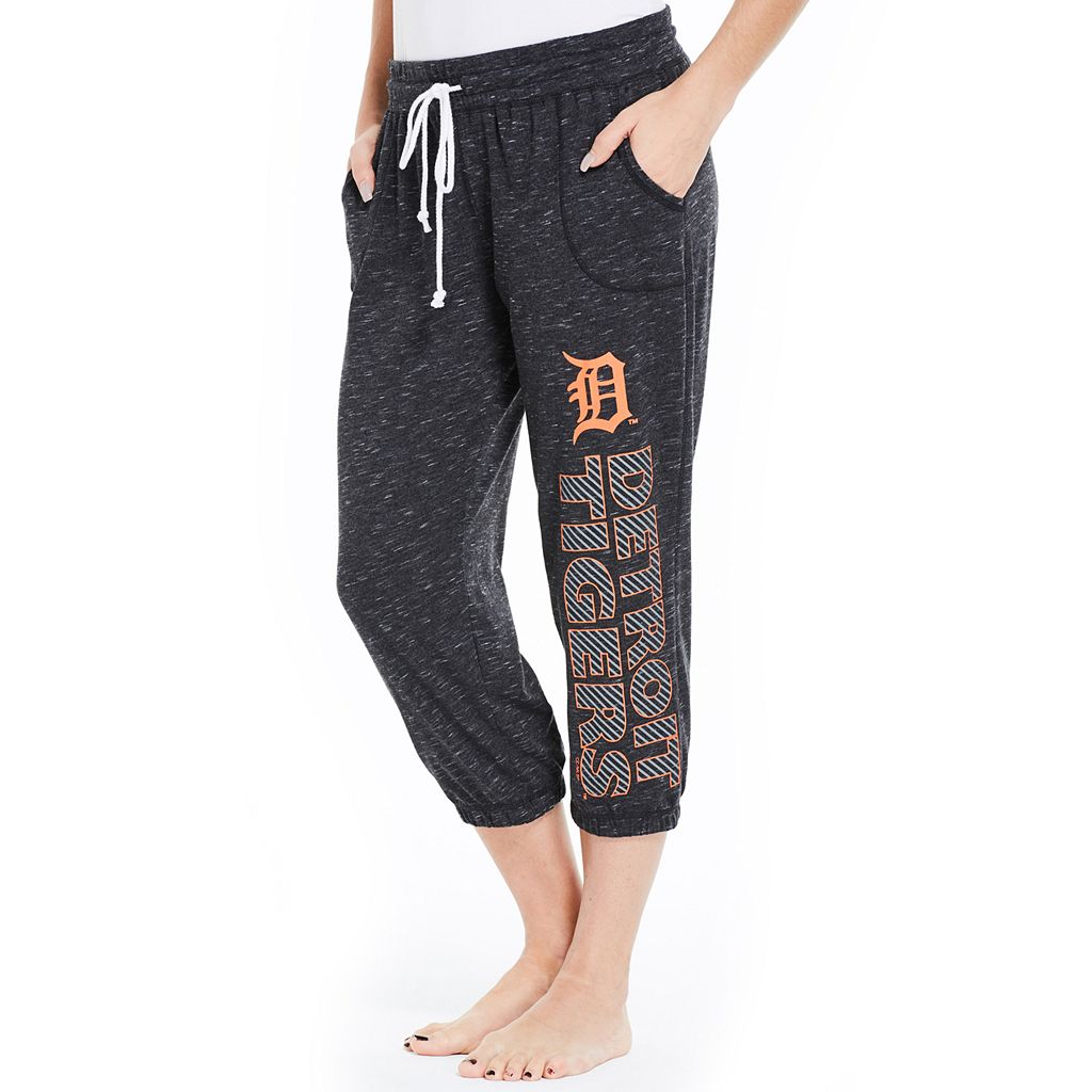 Women's Concepts Sport Detroit Tigers Ringer Capri Pants