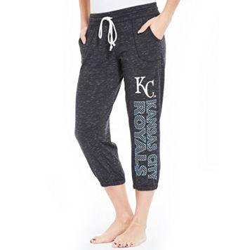 Women's Concepts Sport Kansas City Royals Ringer Capri Pants