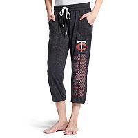 Women's Concepts Sport Minnesota Twins Ringer Capri Pants