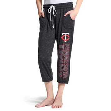 Women's Concepts Sport Minnesota Twins Ringer Capri Pants