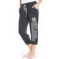 Women's Concepts Sport New York Yankees Ringer Capri Pants