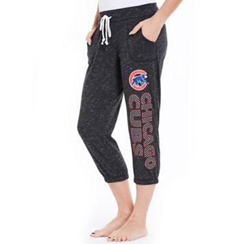 Women's Concepts Sport Chicago Cubs Ringer Capri Pants