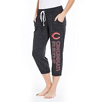 Women's Concepts Sport Cincinnati Reds Ringer Capri Pants