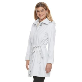 Women's Weathercast Hooded Trench Coat