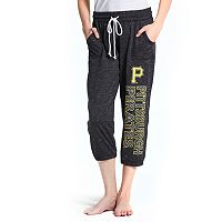 Women's Concepts Sport Pittsburgh Pirates Ringer Capri Pants