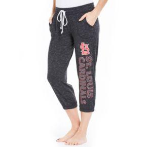Women's Concepts Sport St. Louis Cardinals Ringer Capri Pants
