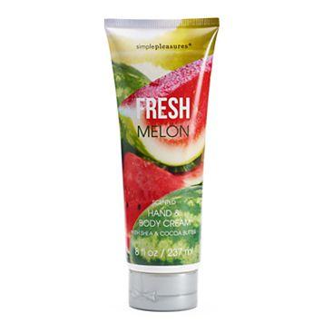 Simple Pleasures Fresh Melon Hand & Body Lotion