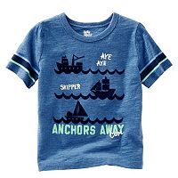 Toddler Boy OshKosh B'gosh® Short Sleeve Applique Graphic Tee