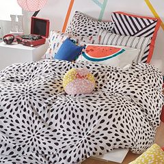 Scribble Ink Drop Comforter Set