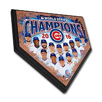 Chicago Cubs 2016 World Series Champions Home Plate 12