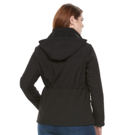 Plus Size Weathercast Hooded Anorak Jacket