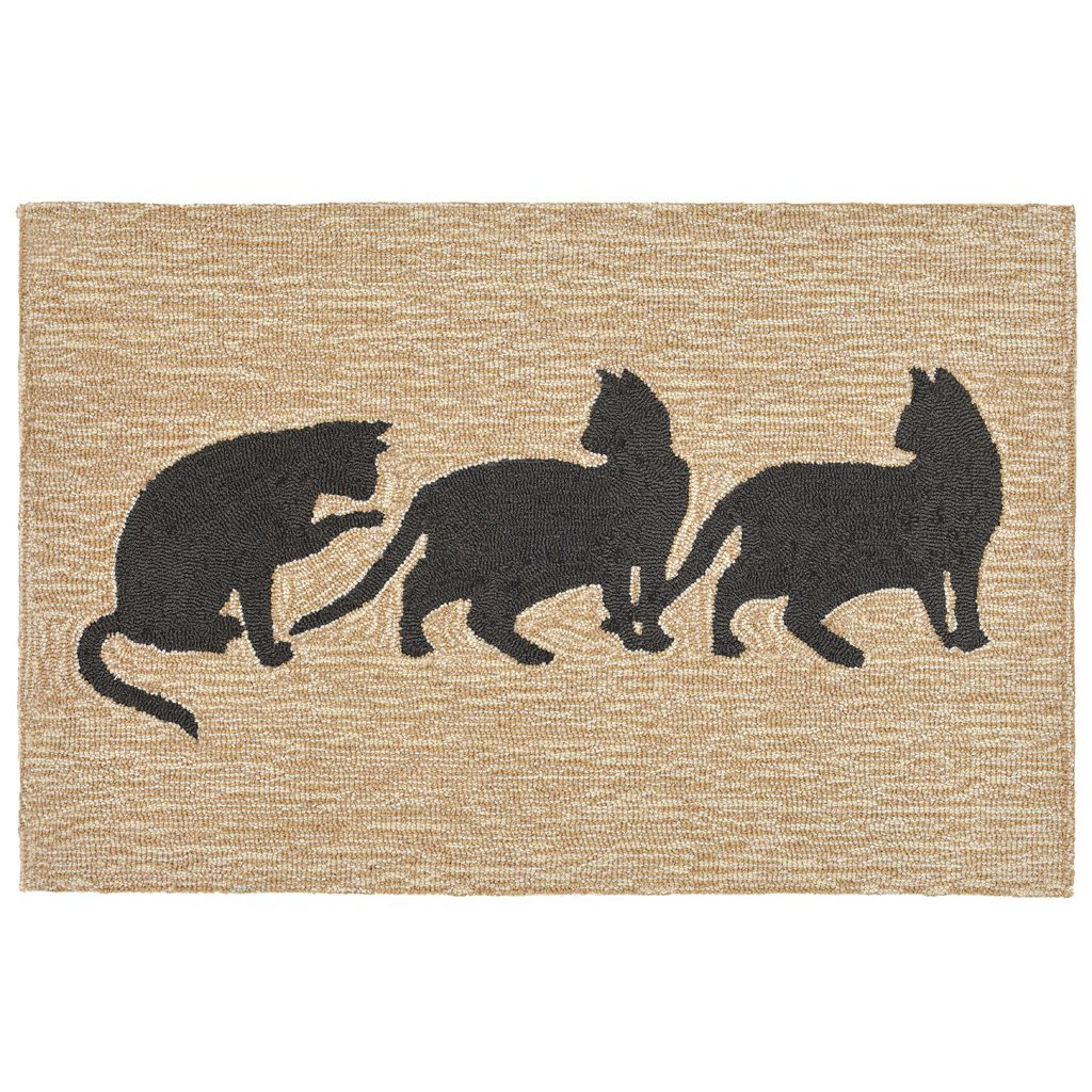 Trans Ocean Imports Liora Manne Front Porch Cats Indoor Outdoor Rug