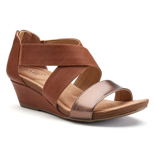 Croft & Barrow® Quinci Women's Wedge Sandals