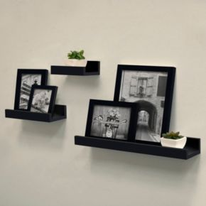 Harbortown Gallery Ledge Wall Shelf 3-piece Set