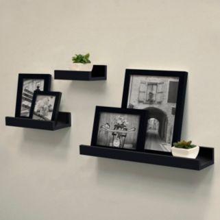Harbortown Gallery Ledge Wall Shelf 3-piece Set