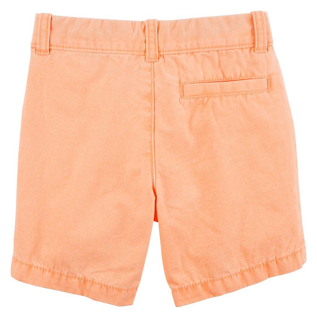 Toddler Boy Carter's Flat Front Shorts