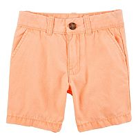 Toddler Boy Carter's Flat Front Shorts