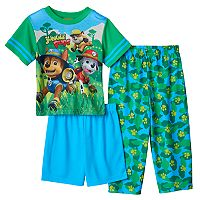 Toddler Boy Paw Patrol Tracker, Marshall & Rubble 3-pc. Pajama Set
