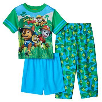Toddler Boy Paw Patrol Tracker, Marshall & Rubble 3-pc. Pajama Set