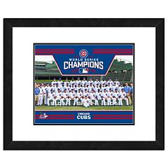 Chicago Cubs 2016 World Series Champions Team Sit Down 22' X 18' Framed Photo