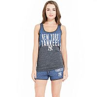Women's Concepts Sport New York Yankees Tank Top & Shorts Set