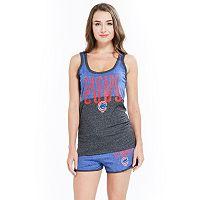 Women's Concepts Sport Chicago Cubs Tank Top & Shorts Set