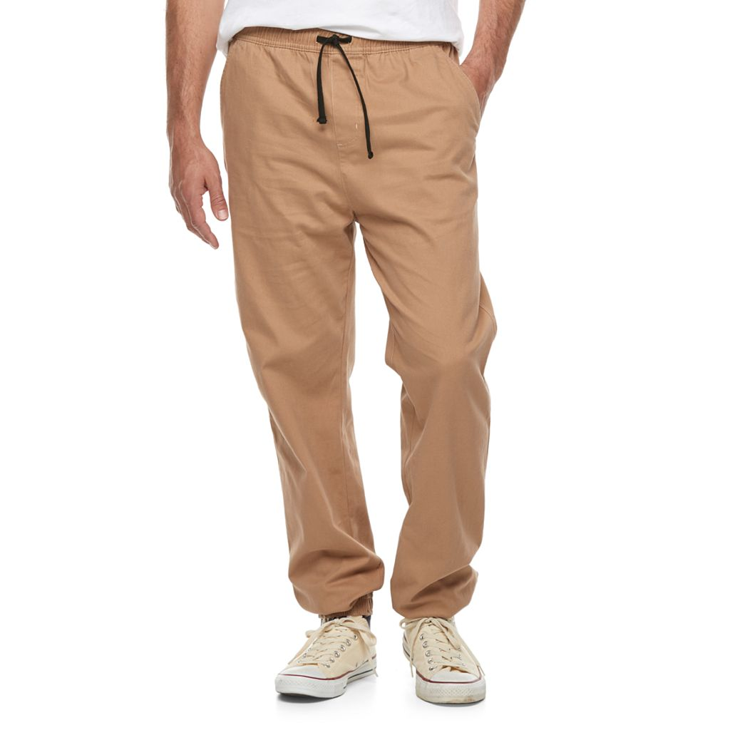 Men's Hollywood Jeans Stretch Twill Jogger Pants
