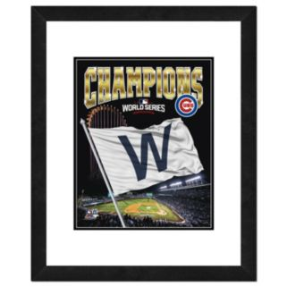 "Chicago Cubs 2016 World Series Champions 22"" X 18"" Framed Photo"