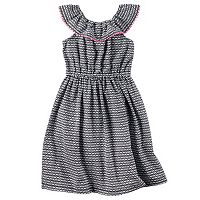 Toddler Girl Carter's Geometric Dress