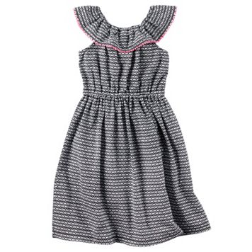 Toddler Girl Carter's Geometric Dress