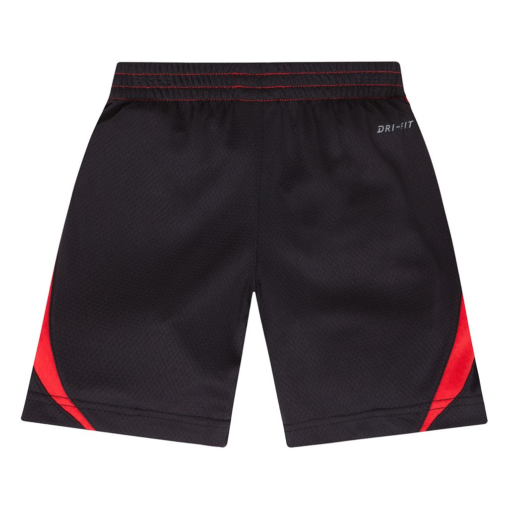 Toddler Boy Nike Dri-FIT Colorblock Avalanche Shorts