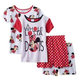 "Disney's Minnie Mouse Girls 4-10 ""A Whole Lotta Dots"" Pajama Set"