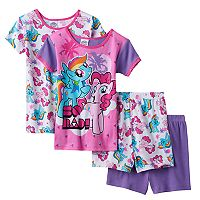Girls 4-10 My Little Pony Rainbow Dash & Pinkie Pie Pajama Set