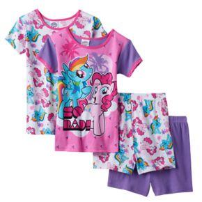 Girls 4-10 My Little Pony Rainbow Dash & Pinkie Pie Pajama Set